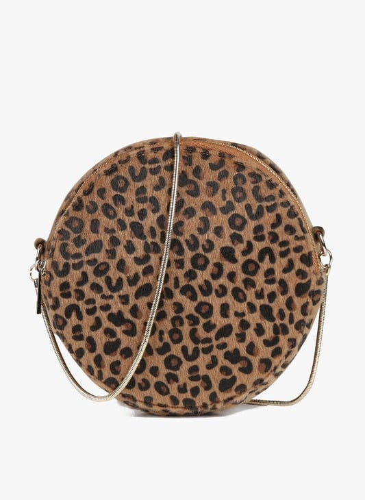 Sac rond leopard