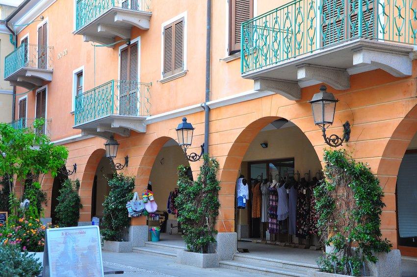 La ville de la Maddalena