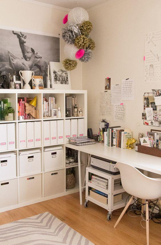Bureau confortable et fonctionnel