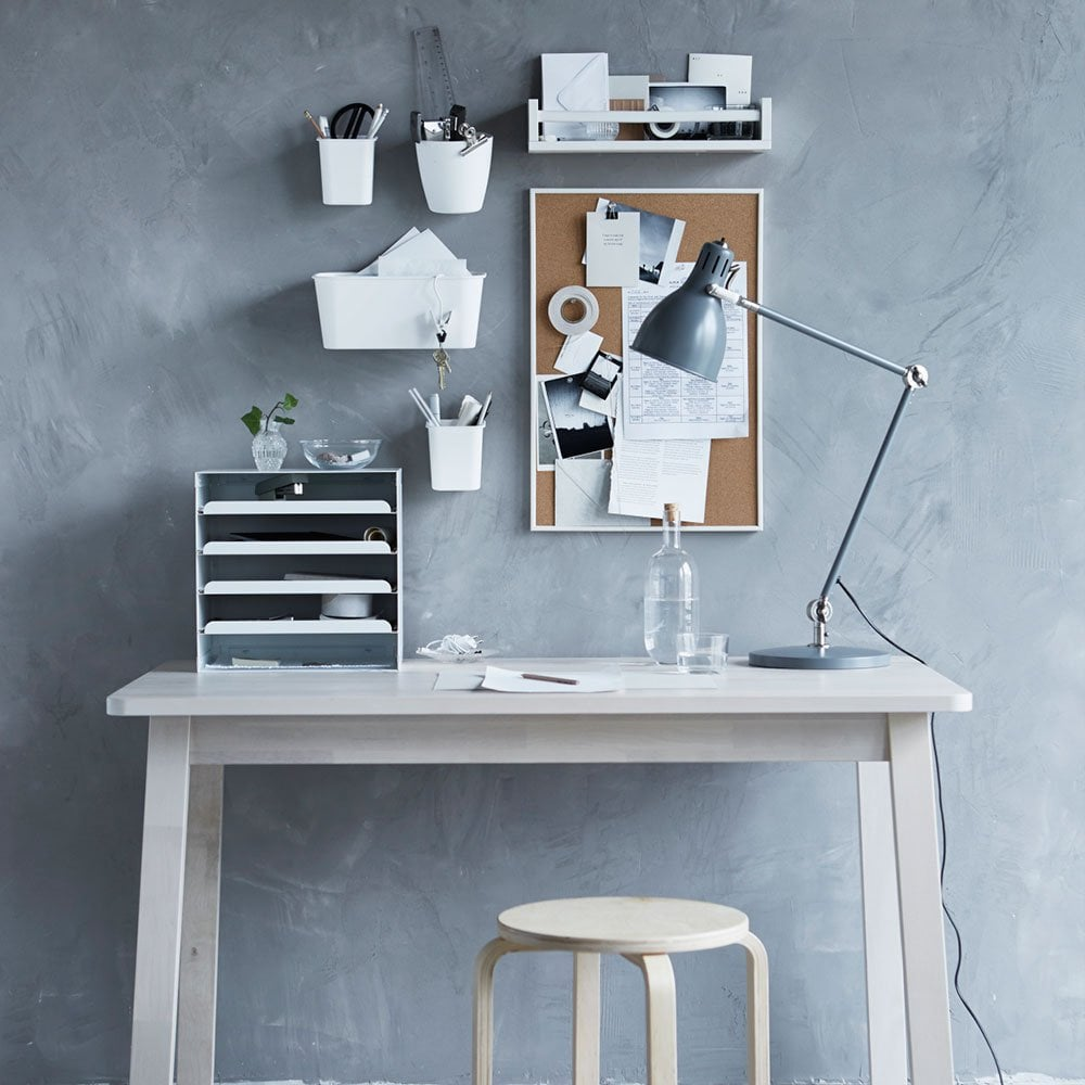 Aménager un bureau à domicile.