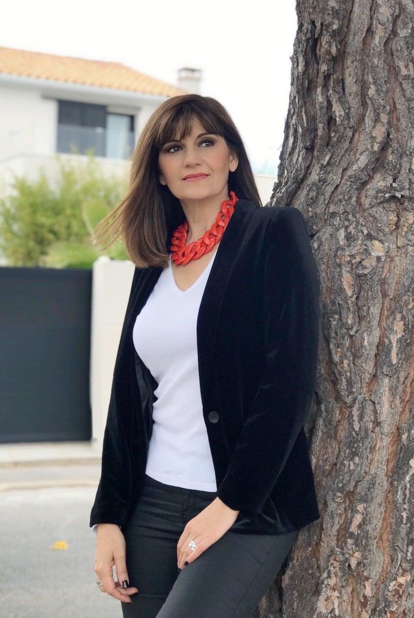 Sandrine En mode basque