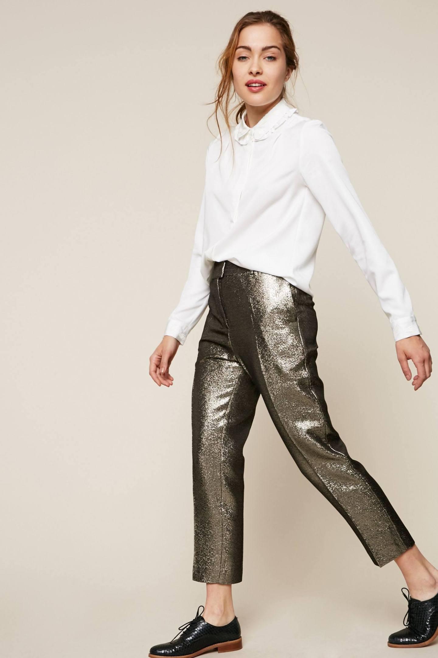 pantalon brillant