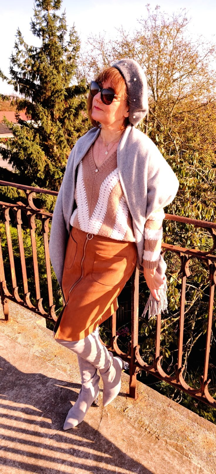 Valérie style vintage en jupe