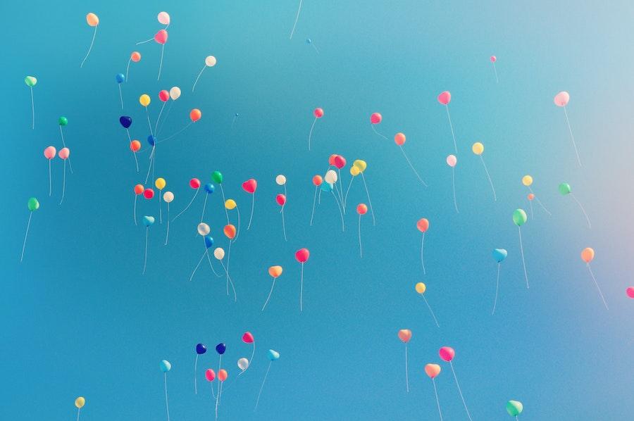 Ballons vers le bonheur