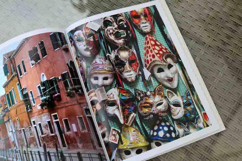 venise masques livre photo