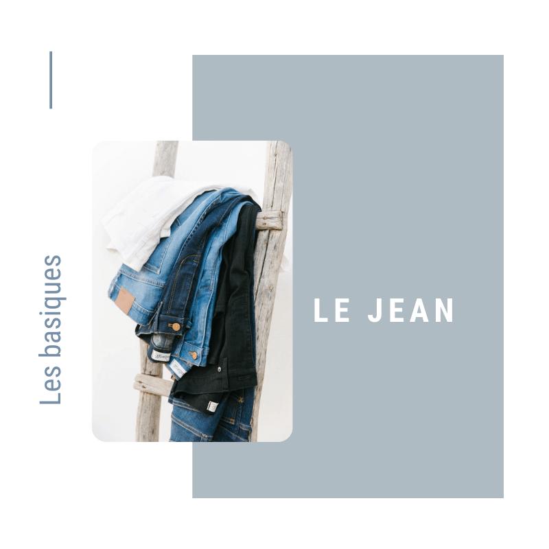 Le jean basique