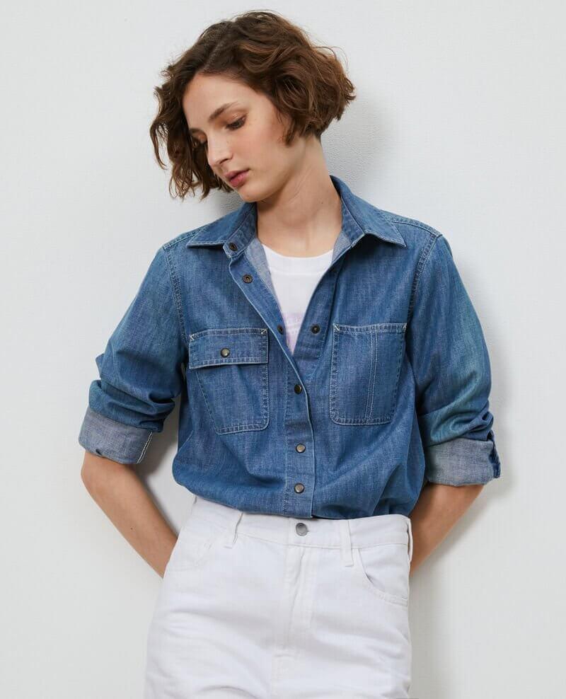 chemise en jean