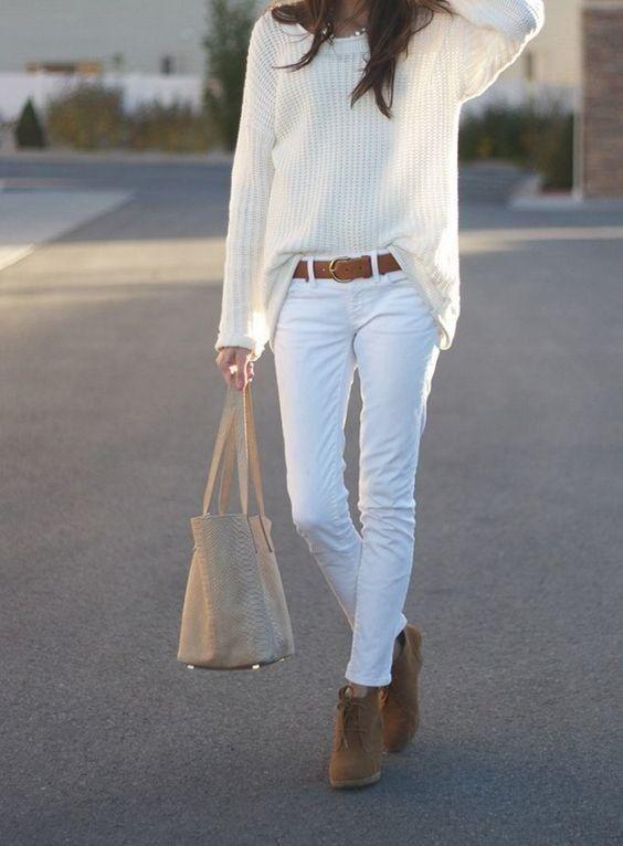 Jean blanc