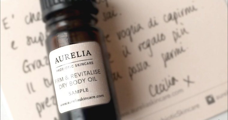Firm & Revitalise dry body oil – Aurelia