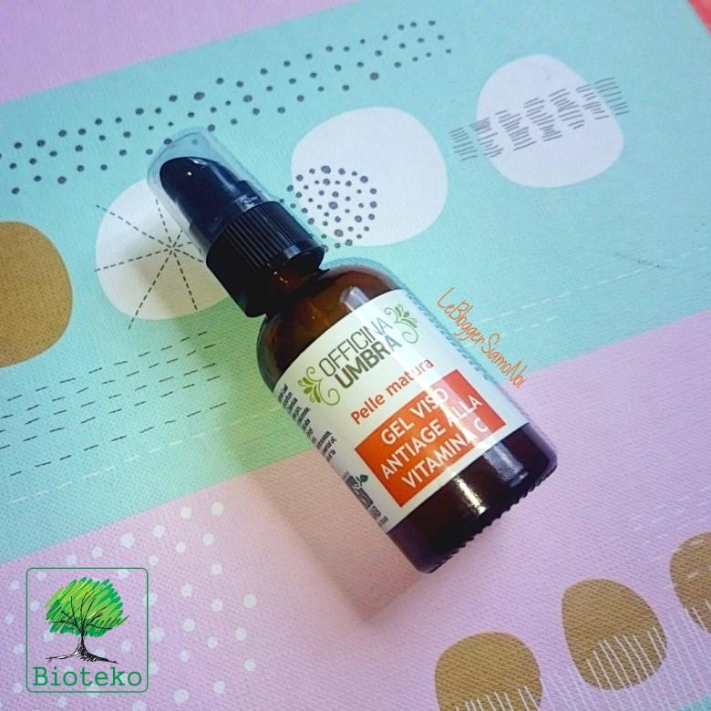 Bioteko, OFFICINA UMBRA -Gel viso antiage alla vitamina C