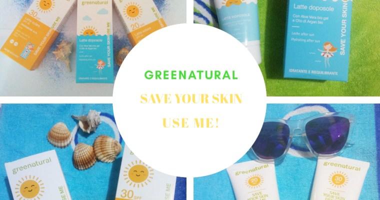 Latte solare SPF 20, 30, 50 e doposole, Greenatural