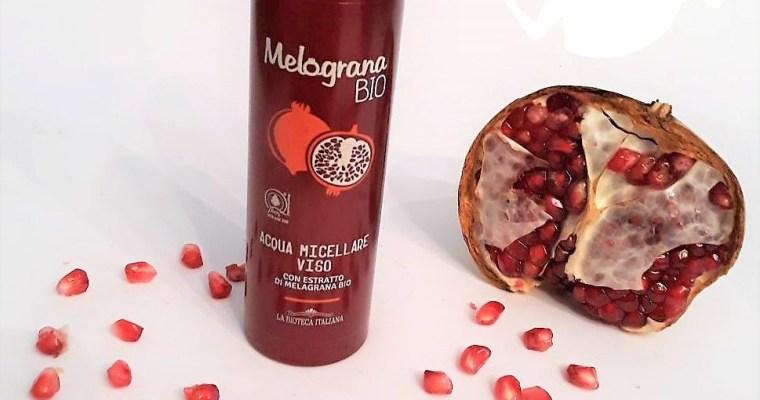 Acqua micellare viso Melagrana Bio – La Bioteca Italiana