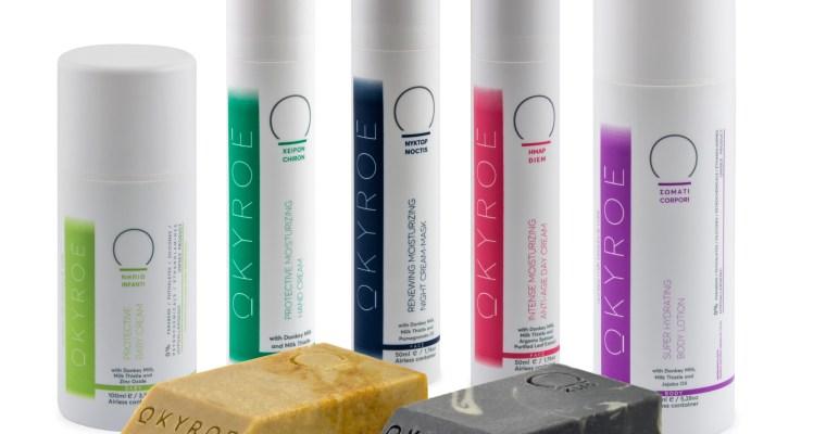 Okyroe, il brand e la linea a base di latte d'asina
