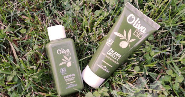 """Shampoo e Balsamo """"Oliva Bio"""" - La Bioteca Italiana"""