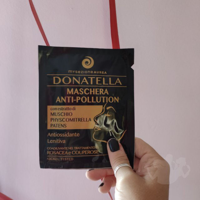 Donatella maschera anti pollution - My Sezione Aurea