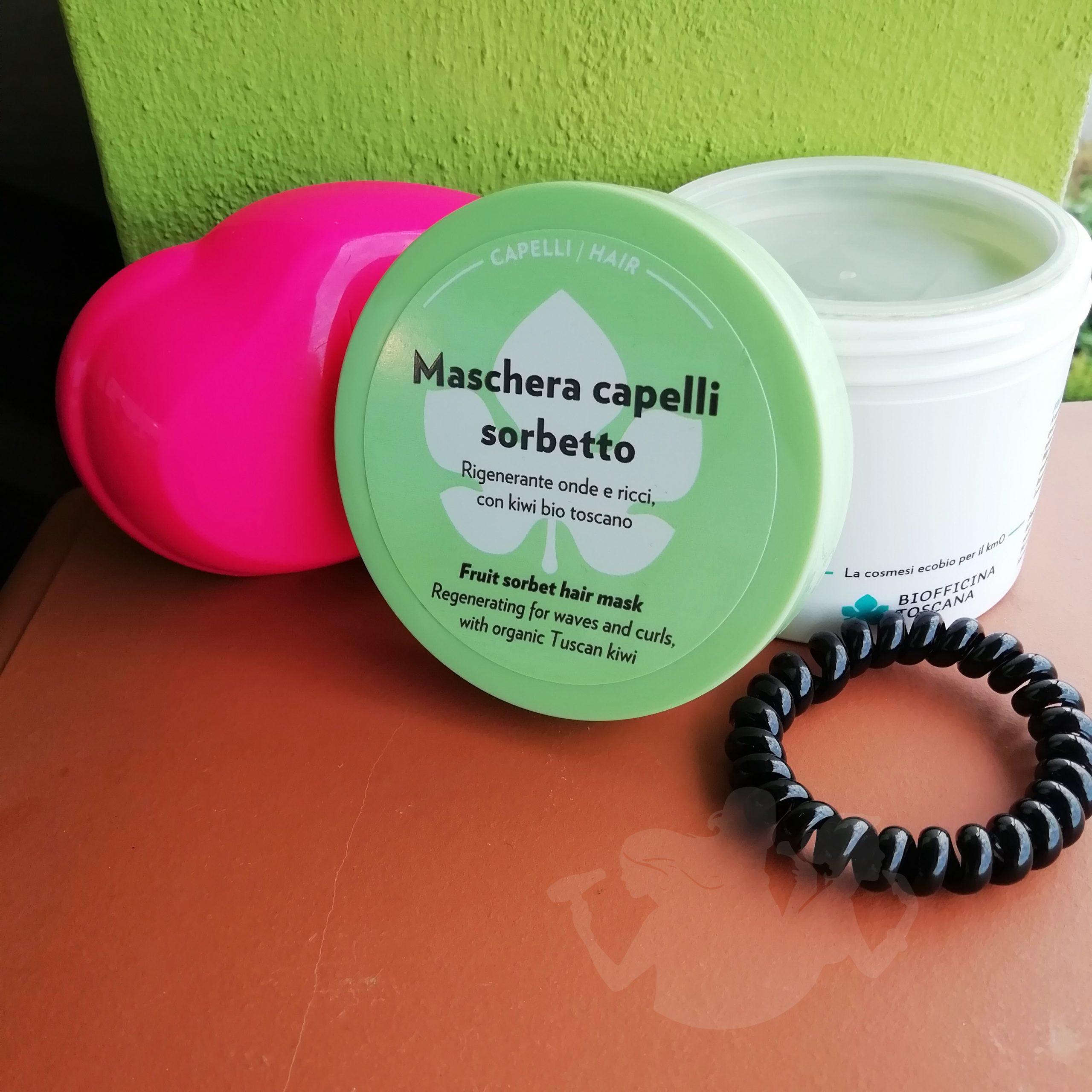 Maschera capelli sorbetto – Biofficina Toscana