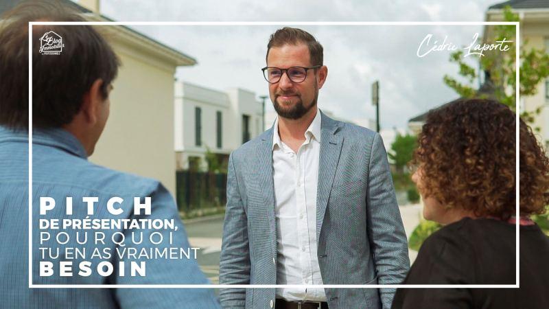 Pitch presentation du conseiller immobilier