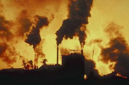 La pollution et les antioxydants