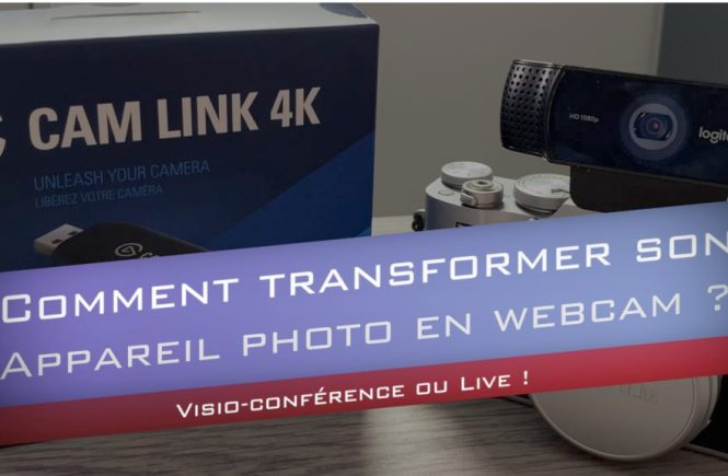 visio conférence avec appareil photo