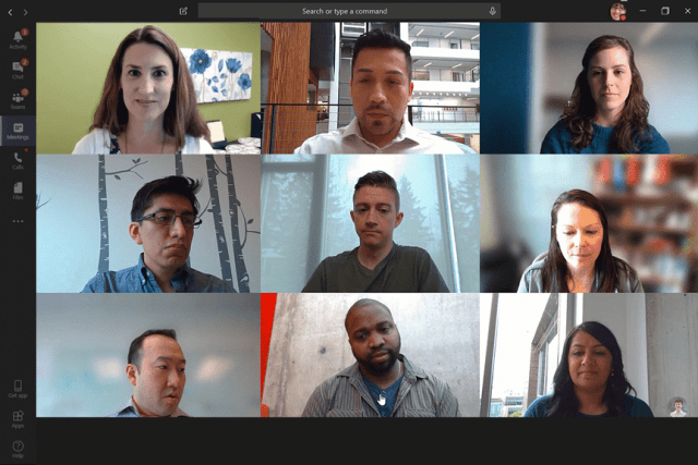VIEW ALL PARTICIPANTS IN VIDEO MEETING - Microsoft Tech Community ...
