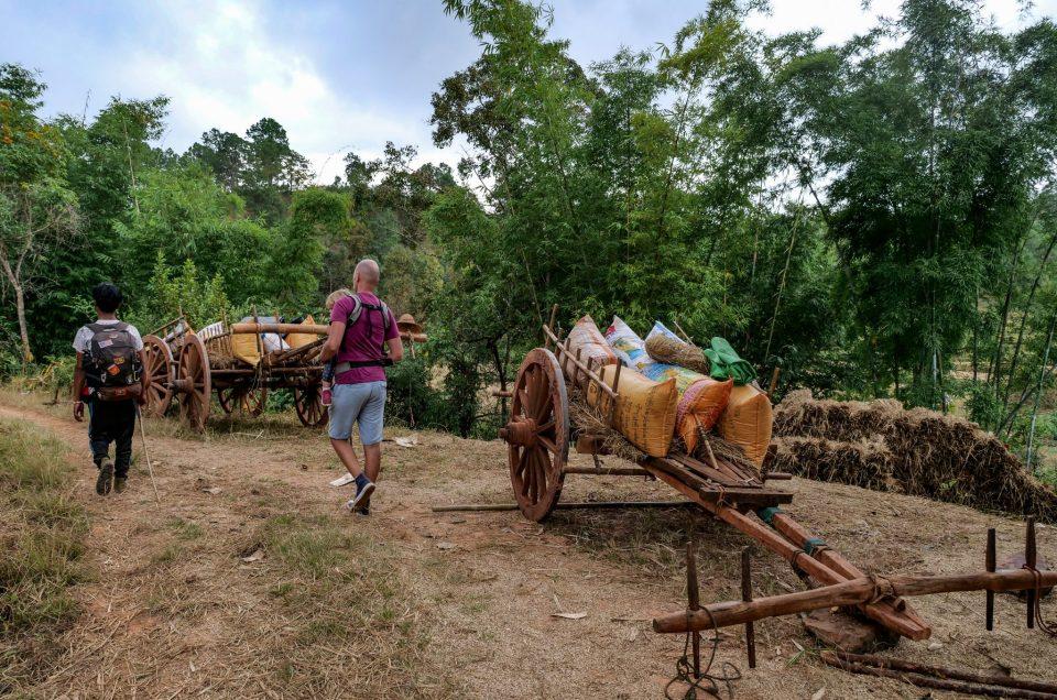Myanmar – Deux jours de trek de Kalaw au Lac Inle (avec ou sans bébé)