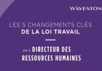 Les 5 changements clés de la loi Travail pour chacune des fonctions RH (épisode 2/4 : le Directeur des Ressources Humaines)