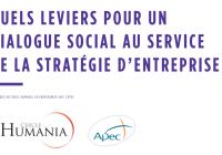 Etude du Cercle Humania – Quels leviers pour un dialogue social au service de la stratégie d'entreprise ?