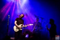 Aymeric Maini (vocals, guitar), David Le Deunff (guitar, vocals), Simon Riochet (drums). Aymeric Maini @ 5ème Blues Party, Les Jardins du Millenium, l'Isle d'Abeau (France), 10.06.2017. (c) Christophe Losberger