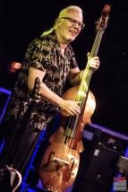 Henning Hauerken (bass). Bonita and the Blues Shacks @ 5ème Blues Party, Les Jardins du Millenium, l'Isle d'Abeau (France), 10.06.2017. (c) Christophe Losberger