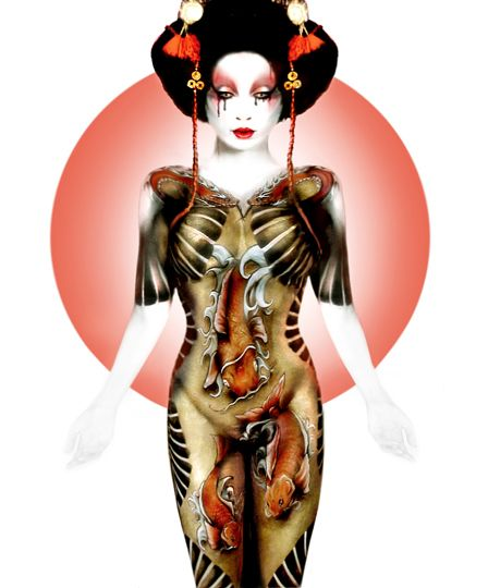 nelly-recchia-body-painting-france