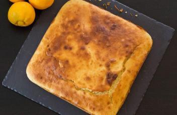 Cake citron ricotta