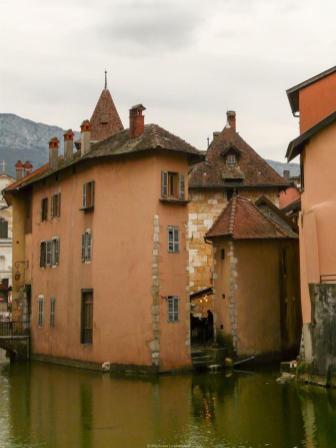 La ville d'Annecy