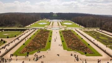 Jardins de Lenôtre depuis le Dôme