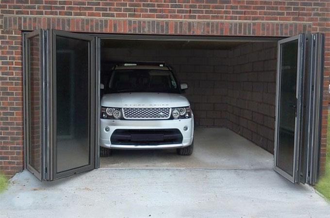 porte de garage basculante ou