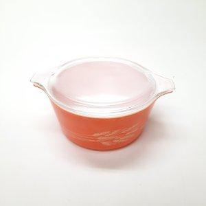 Plat Corningware orangé (1.5)