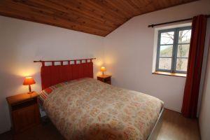Chambre parents du gîte rural en Ardèche