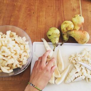 la confiture de poire