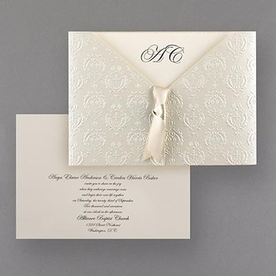 Wedding Invitations From The U S A Lebouquet Blanc