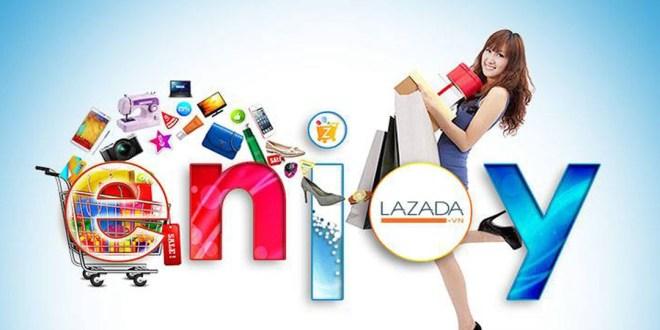 Site de e-commerce au Vietnam.