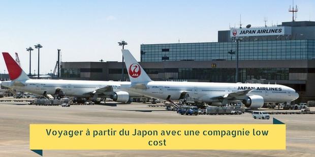 Voyager à partir du Japon avec une compagnie low cost