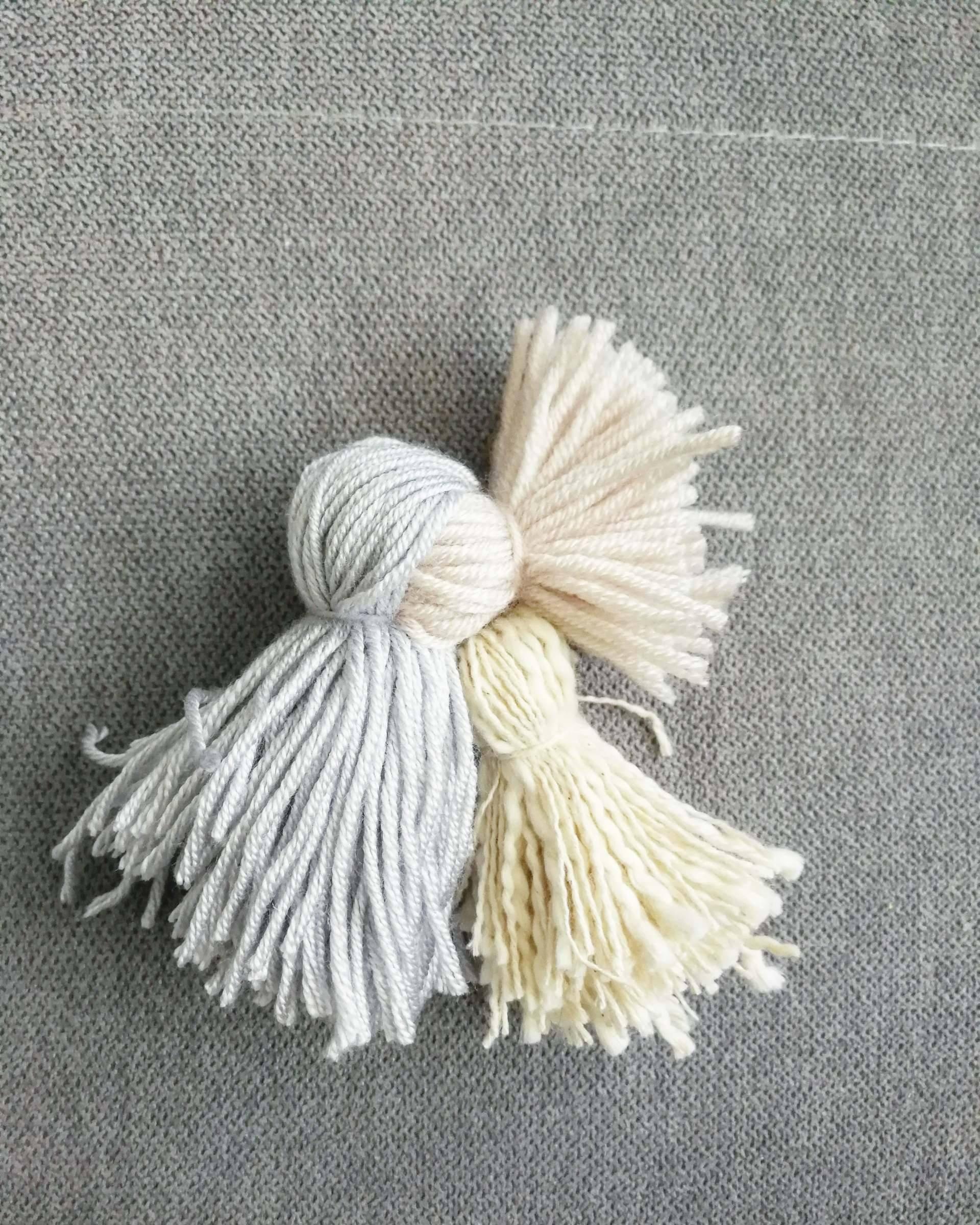 spring craft yarn bird