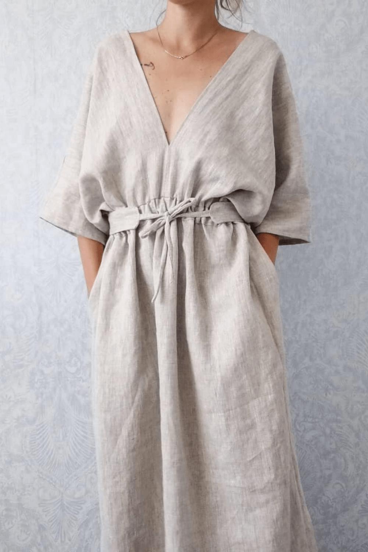 evangelie kimono dress
