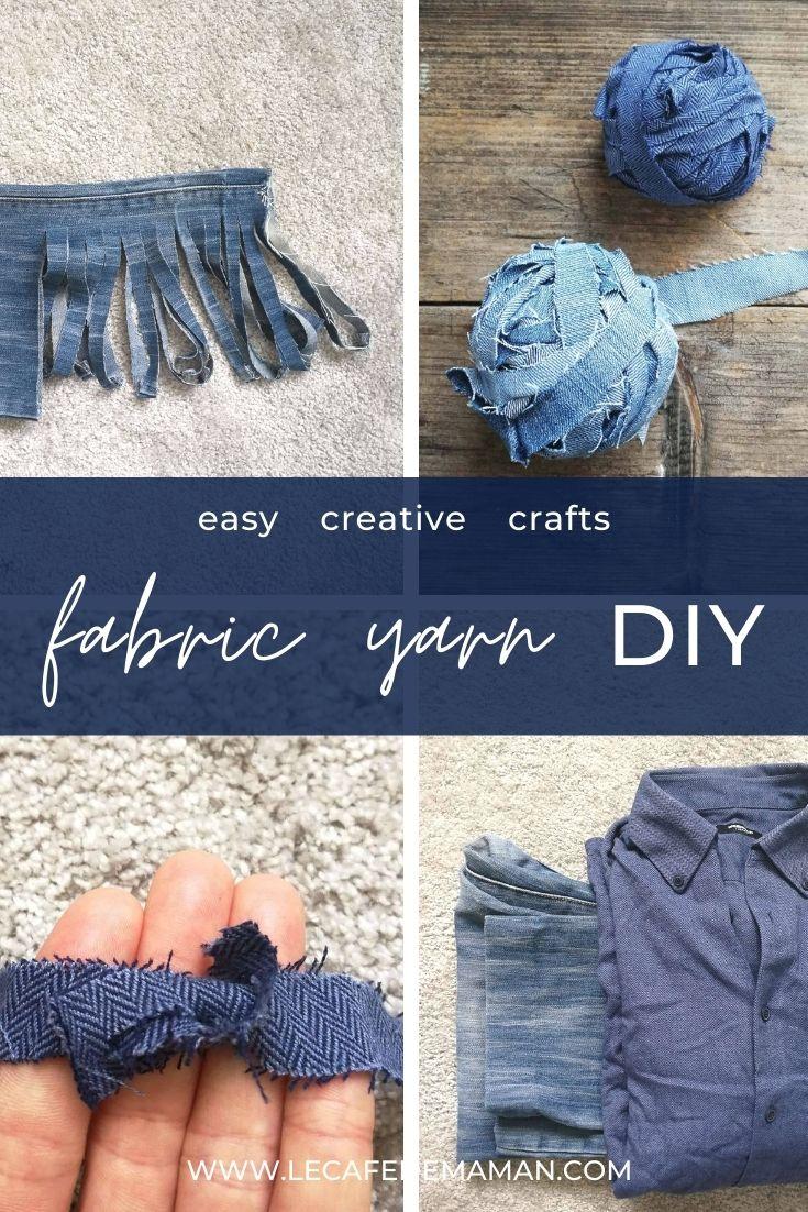 fabric yarn DIY