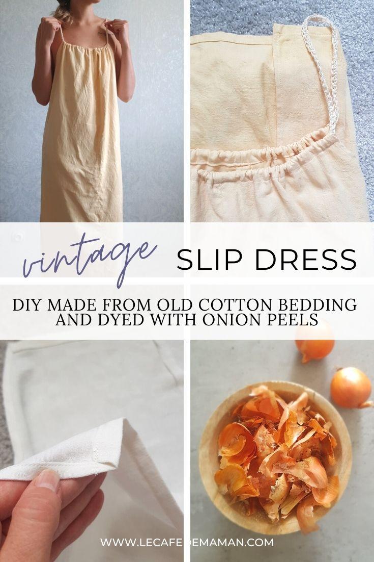 easy slip dress diy