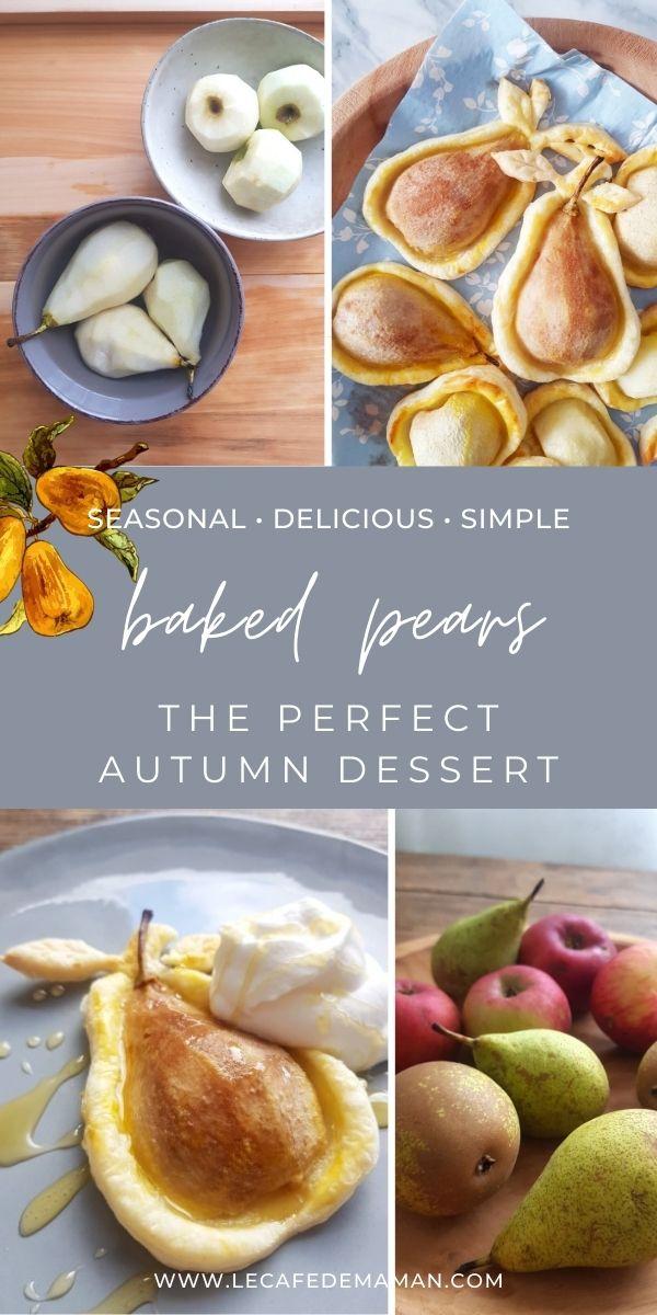 baked pears dessert recipe
