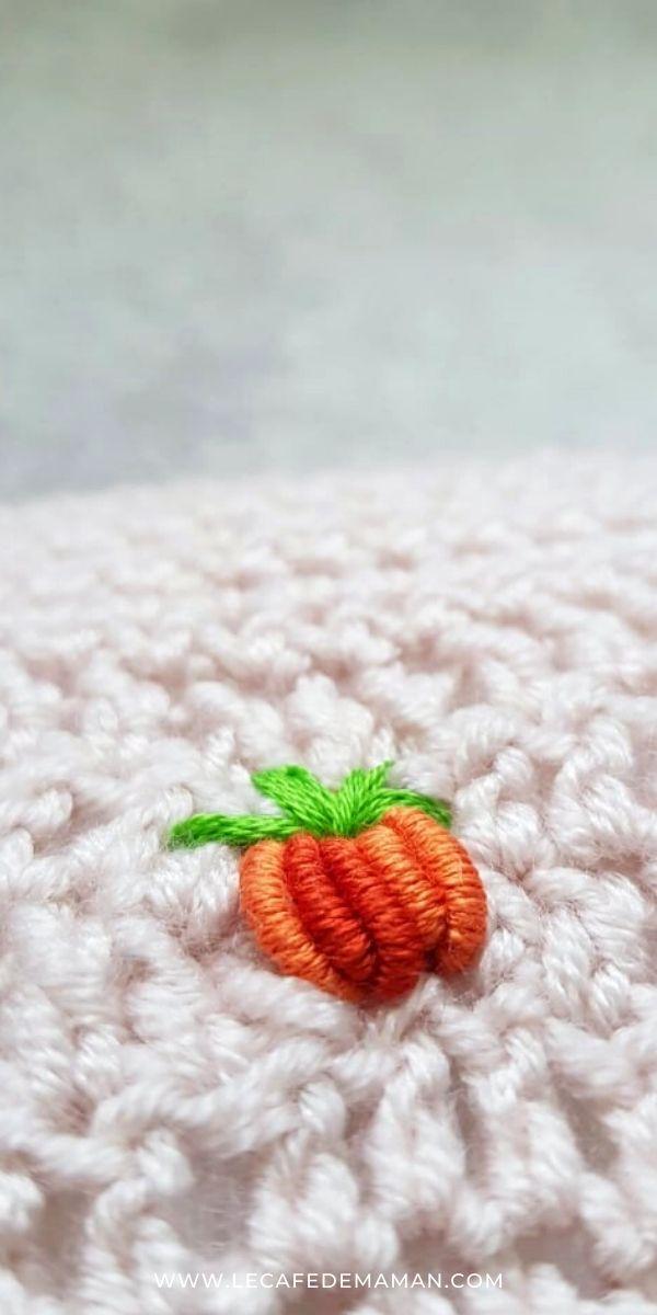 crochet pumpkin diy