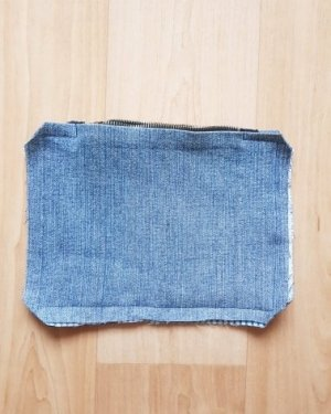 how to sew zipper pouch