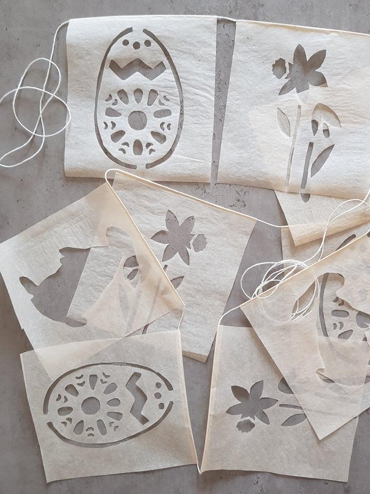 amazing paper garland