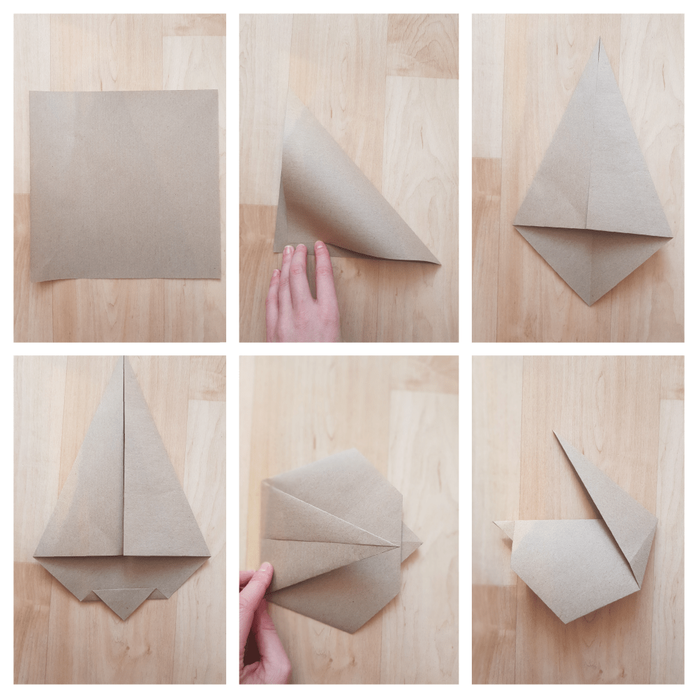 how to make origami bunny
