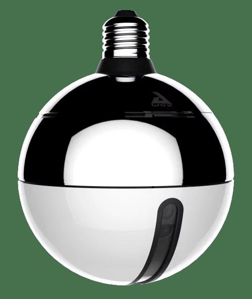 Ampoule permettant d'avoir un flux vidéo de la pièce
